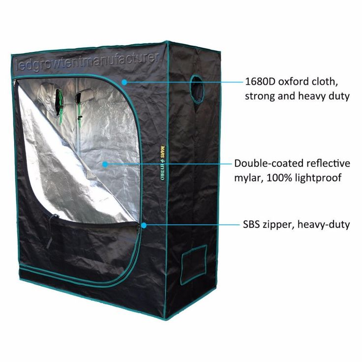 Indoor Grow Tent 120x60x180 – LedLightingland.com