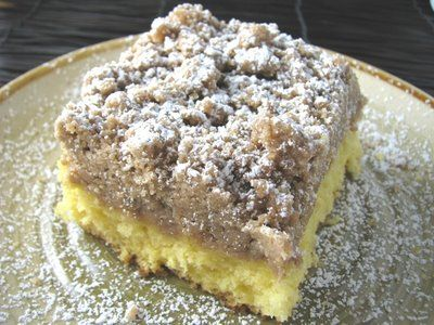 Copy cat recipe for Starbuck's Coffee Cake