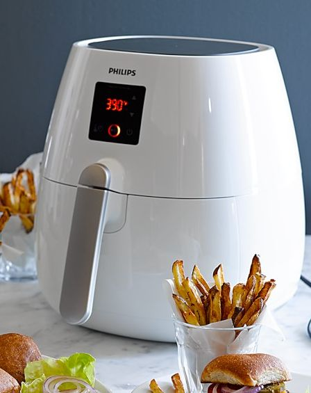 Philips air fryer uses little to no oil! First time on