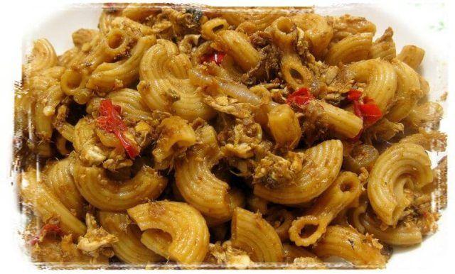 Resepi Makaroni Goreng Sedap And Simple Resepi Mamak Resep Makanan Hidangan Seafood Memasak