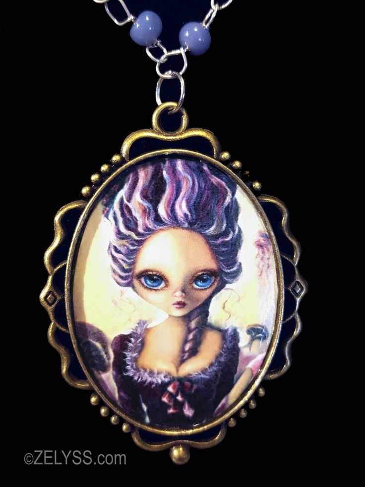 Image of Limited Edition: 'Lollipop Rococo' Print Cameo