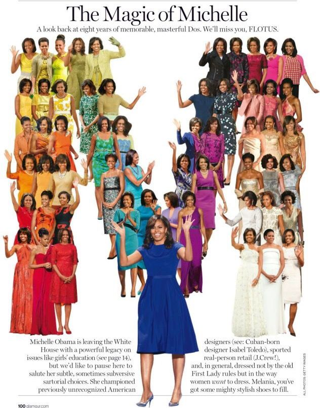 #FirstLady Of The United States Of America  #MichelleObama