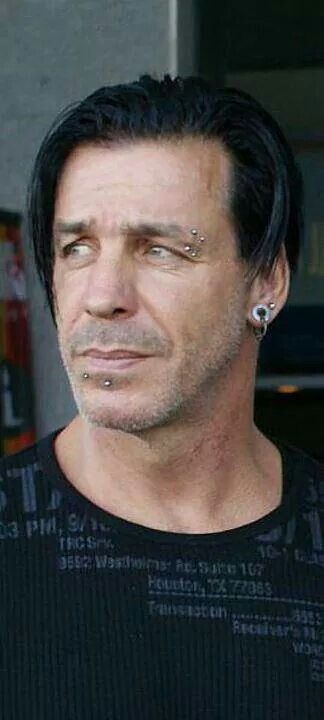 Till Lindemann. good lord