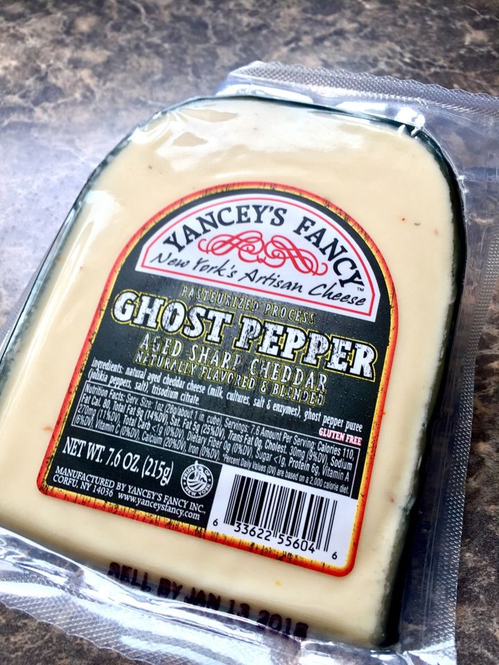 Yancey's Fancy Ghost Pepper Cheese #spicy #food #hot #foodporn #delicious #yummy #foodie #dinner #dirty