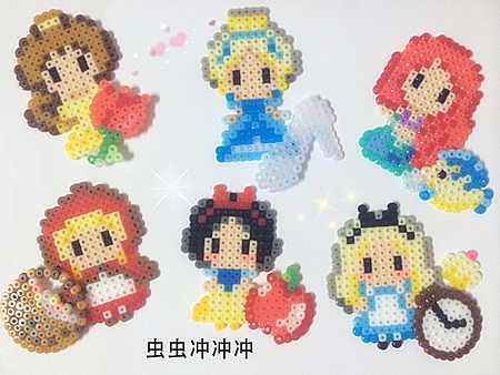 商品詳情. Princess perler beads