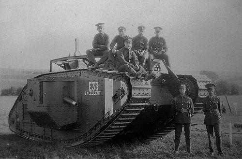 World War One Tank: