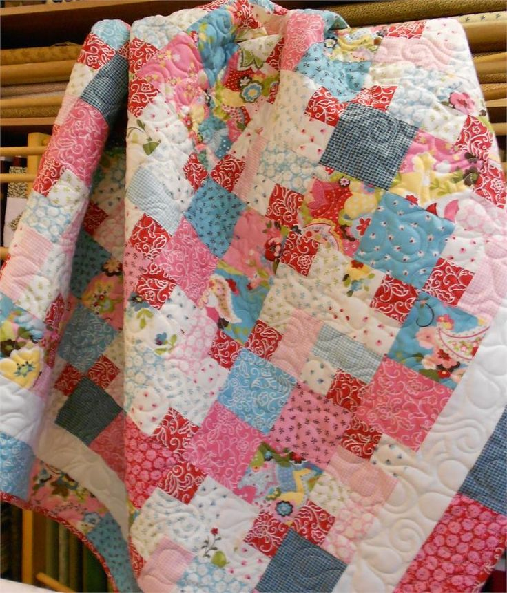 Layer Cake Quilt As You Go : 17 Best images about Quilts on Pinterest Quilt patterns ...