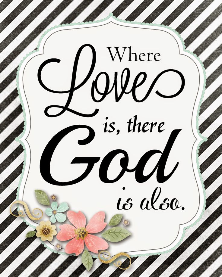 A Pocket full of  LDS prints: Where Love is, there God is also - Free Print