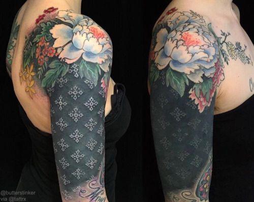 Best 25+ Solid black tattoo ideas on Pinterest   Line ...