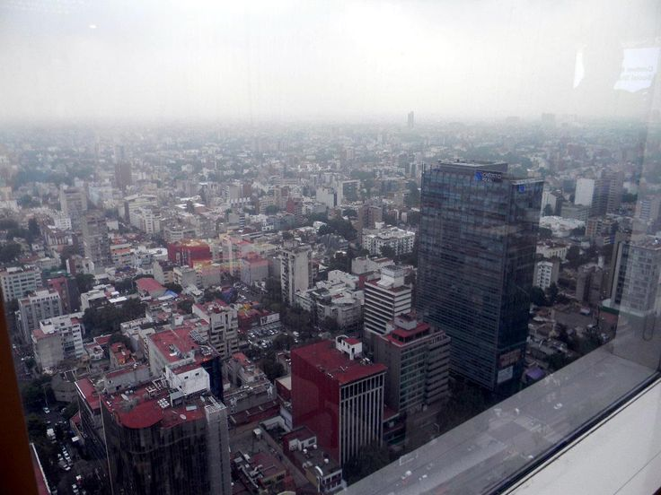 Ciudad de México desde la altura del WTC