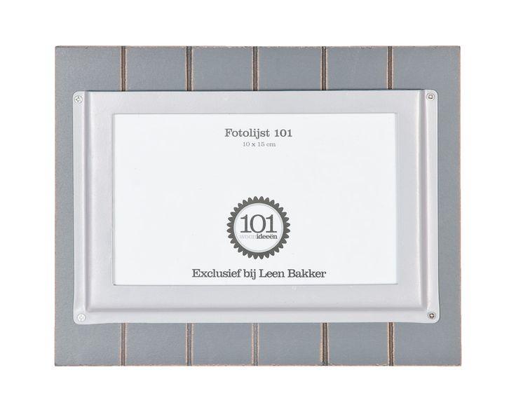Fotolijst 101 voor de trouwfoto in de buffetkast #Leenbakker #101woonideeën