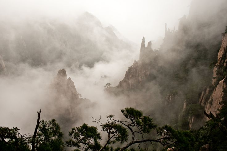 Huangshan (yellow mountain), Anhui province, China