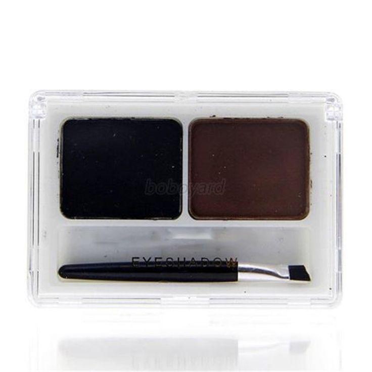 Mujeres impermeables Cejas Cejas Sombra de Ojos En Polvo Paleta de Maquillaje de Belleza Cosméticos Y57