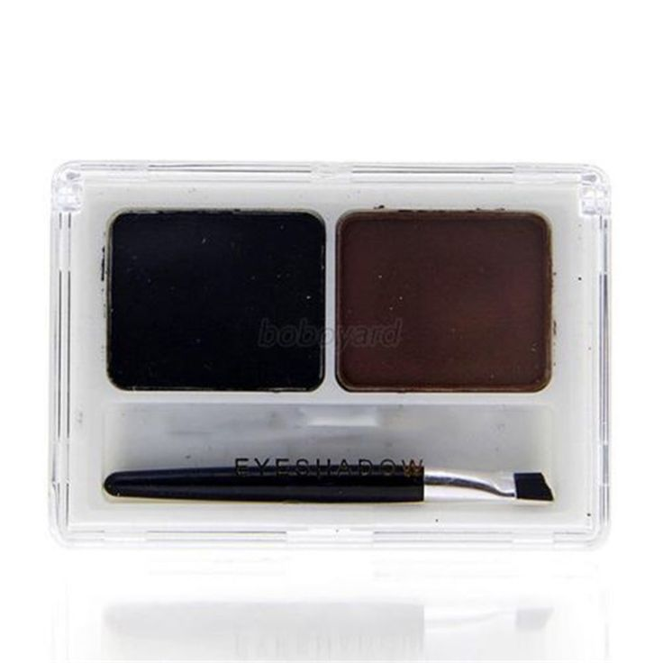 Tahan air Wanita Alis Powder Eye Brow Shading Palette Kecantikan Makeup Kosmetik Y57