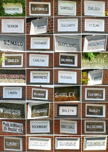 houses with names - Best House Names