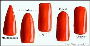 5 Common Nail Shapes