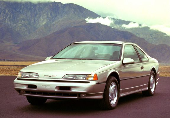 Ford Thunderbird Super Coupe 1989