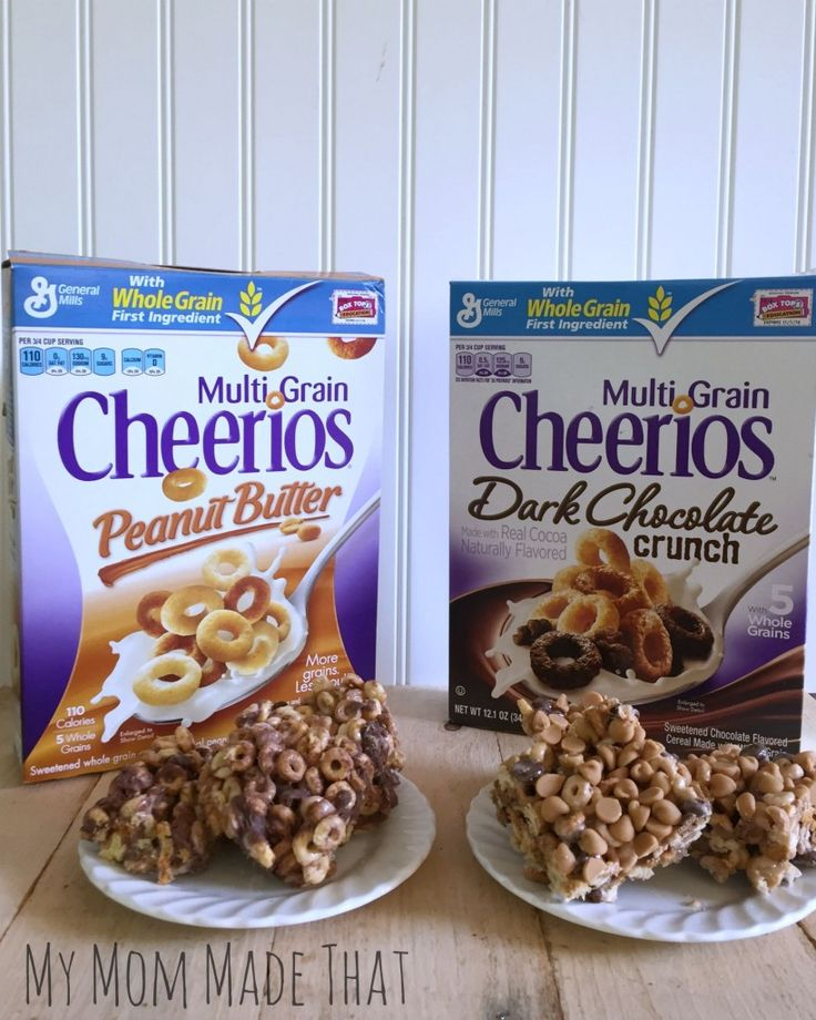 Chocolate Peanut Butter Cheerios Treats: Two Ways