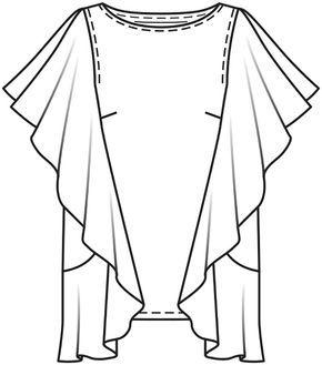 Burda Style Blusa - MULHER - MOLDES PARA DOWNLOAD - LOJA BURDA