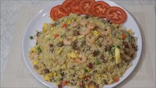 Homemade Special Yang Chow Fried Rice - Com Chien Duong Chau