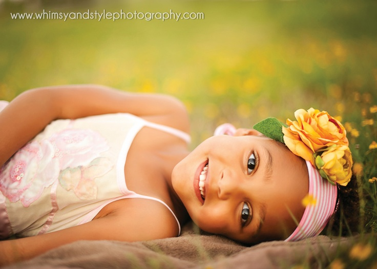 4 year old photo with headband: Whimsy and Style photography