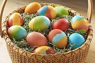 KOOL-AID Tie-Dye Easter Eggs recipe