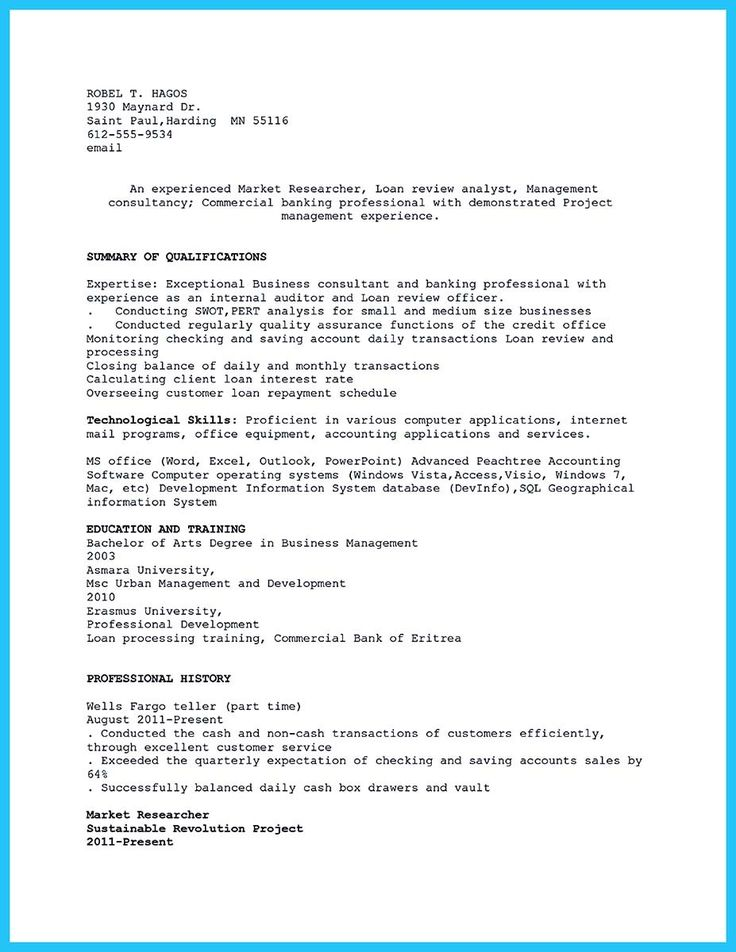 cool Successful Professional Affiliations Resume for Office and - loan review analyst sample resume