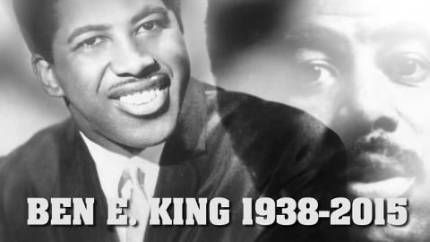 """Ben E. King passes away April 30, 2015 Best known for """"Stand by Me"""""""