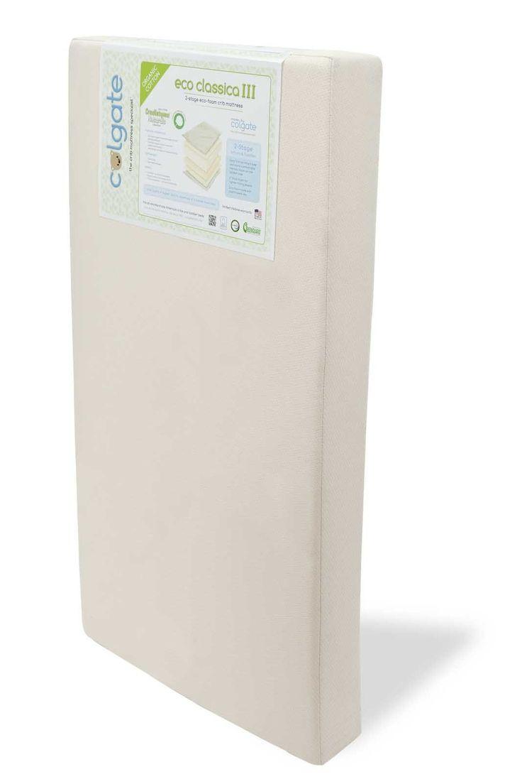 Colgate Eco Classica Iii Dual Firmness Friendlier Crib Mattress Organic Cotton Cover Baby Room Pinterest And