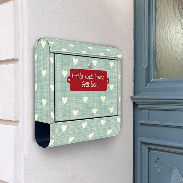 Warum sollte Dein Briefkasten nur dazu verdonnert sein, grau und schmutzig rumzuhängen und ständig mit langweiliger Werbung und Rechnungen gefütter...