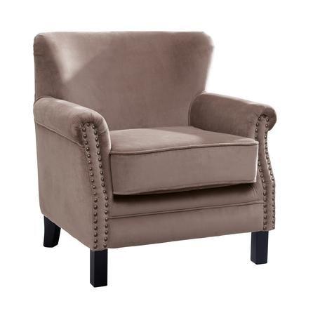 mink bardot velvet armchair dunelm mill bedroom. Black Bedroom Furniture Sets. Home Design Ideas