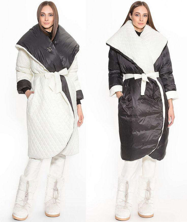 Зимнее женское двухсторонние пальто ODRI