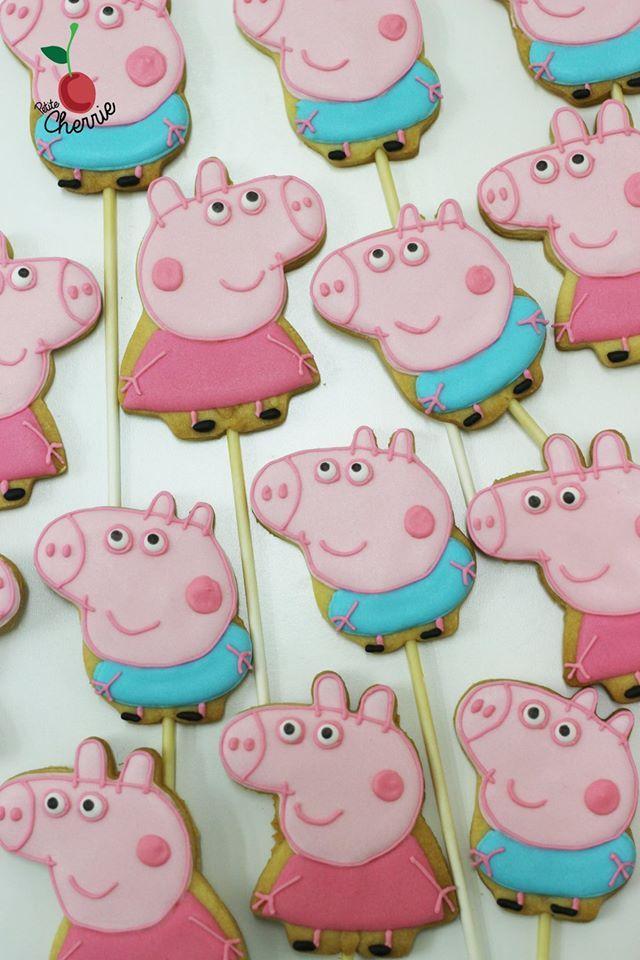 Peppa Pig & George Pig Cookies