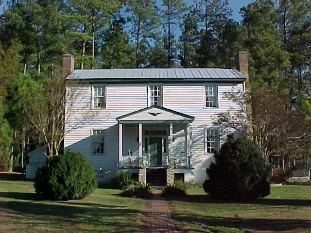 Ladysmith - 1857.  Built in Caroline County, VA and reconstructed on the grounds of Piney Grove at Southall's Plantation in 1987 by the Gordineer family.