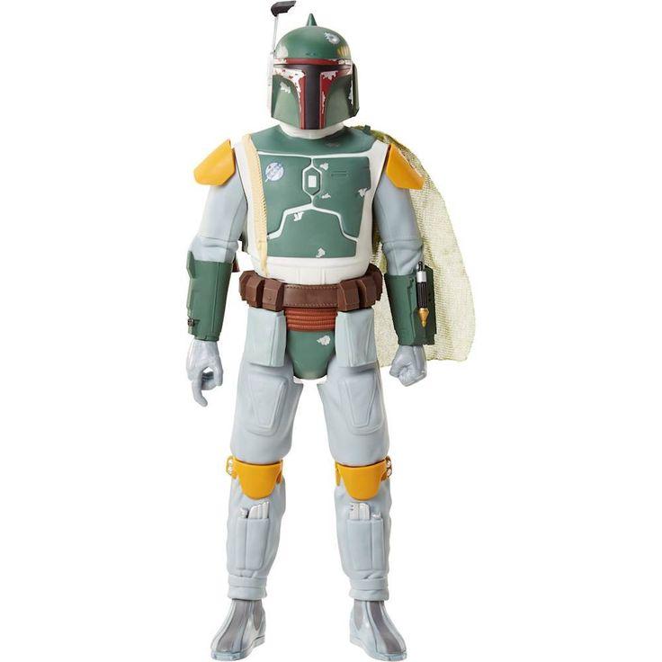 Jakks Pacific - Star Wars Boba Fett Figure - White