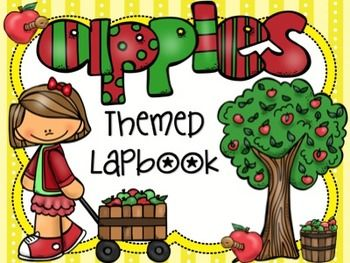 Apple Themed Lapbook will work great with your next apple themed unit!