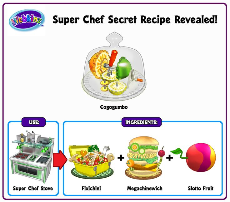 27 best webkinz secret recipes images on pinterest secret recipe learn how to make a special webkinz super chef secret recipe by combining 3 other recipe foods forumfinder Gallery