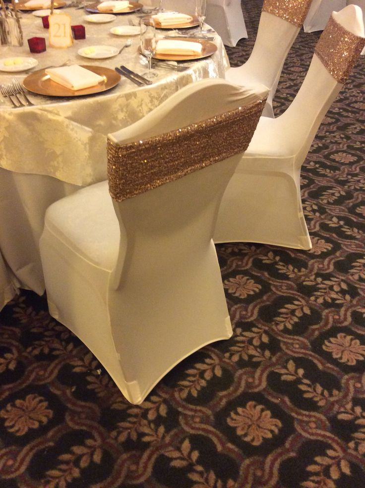 Spandex chair coversBest 25  White chair covers ideas only on Pinterest   Wedding  . Seat Covers Chairs Wedding. Home Design Ideas