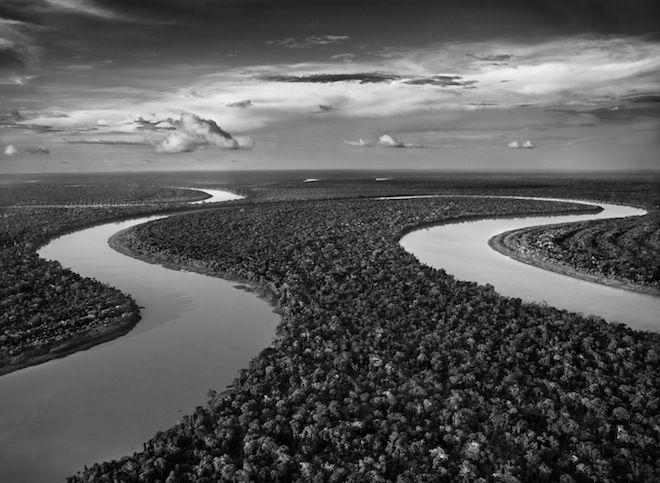 Juruá River is one of the Amazon's longest tributaries / pic by Sebastiao Salgado