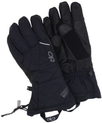 Outdoor Research's Southback mittens: review:  http://www.outdoorgearlab.com/Ski-Gloves-Reviews/Outdoor-Research-Southback