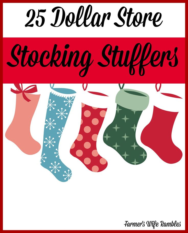 25 Dollar Store Stocking Stuffers To Be Stockings And Kid