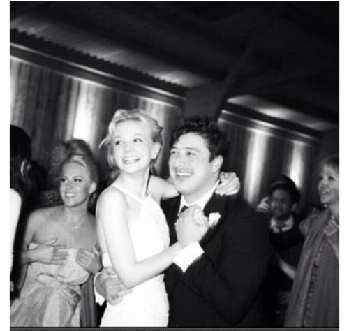 Carey Mulligan and Marcus Mumford at their wedding. | Star ...