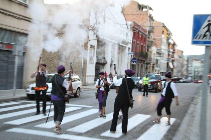 Recull de fotografies de la baixada dels #fallaires de La #PobladeSegur 2014 - Fotos Juan Capdevila