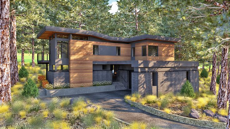 Martis Camp prefab by Method Homes (Architect - Sage Modern)