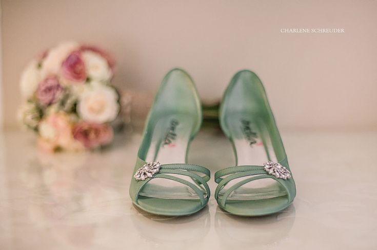 My green shoes
