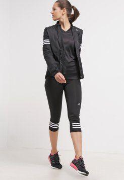 adidas Performance - RESPONSE - T-shirt - långärmad - black