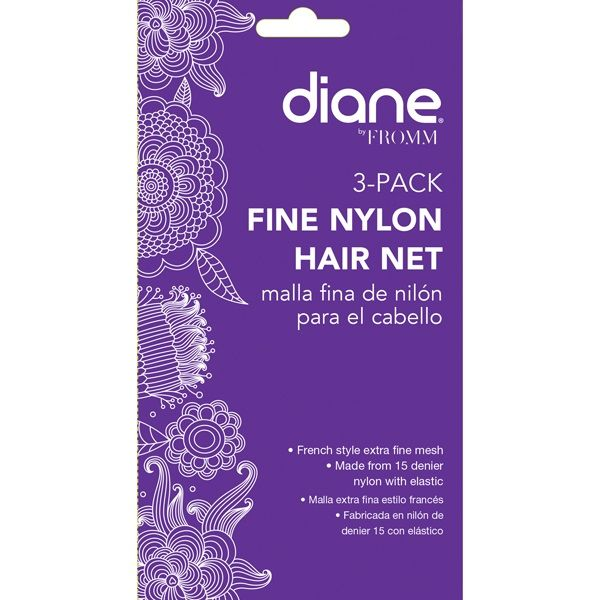 Diane Fine Nylon Hair Net 3 Pack - Medium Brown #D19621 $0.90 Visit www.BarberSalon.com One stop shopping for Professional Barber Supplies, Salon Supplies, Hair & Wigs, Professional Product. GUARANTEE LOW PRICES!!! #barbersupply #barbersupplies #salonsupply #salonsupplies #beautysupply #beautysupplies #barber #salon #hair #wig #deals #sales #Diane #Fine #Nylon #HairNet #3Pack #MediumBrown #D19621