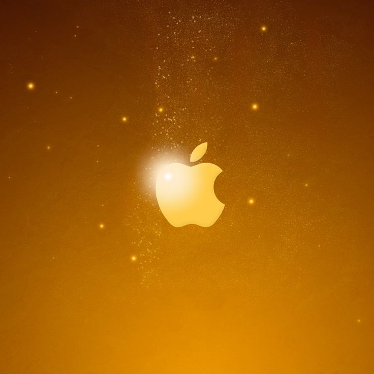 Golden Apple Logo #iPad #Wallpaper | Download more in http://www.ilikewallpaper.net/ipad-wallpaper/.