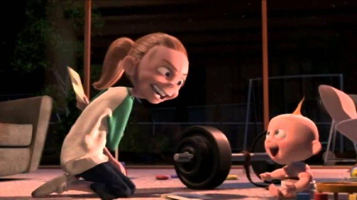 jack jack attack - los increíbles (corto de Pixar)