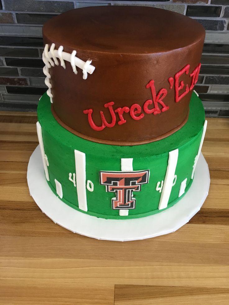 Wreck Em Texas Tech Grooms Cake